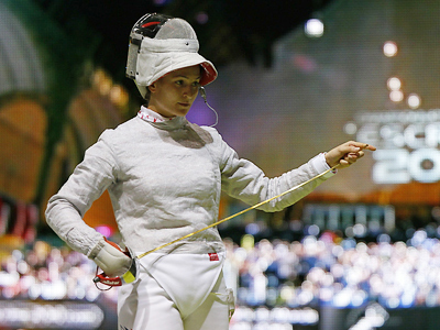 Russia snatch two golds at Fencing Worlds