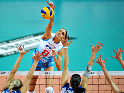 Performance spike: Gamova & co. among favorites for London volleyball gold