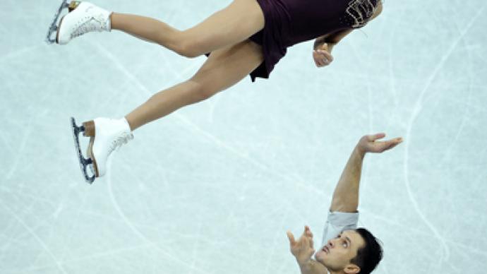 Russian pairs dominate figure skating Grand Prix Finals in Sochi