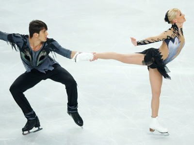 Ilinykh and Katsalapov ready to take ice dancing world by storm