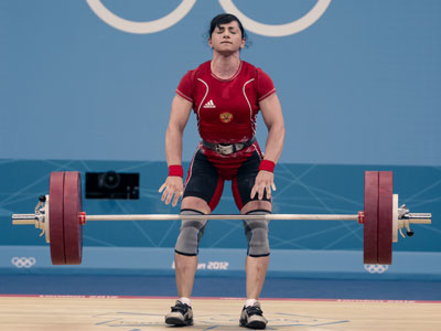 Kazakhstan wins second weightlifting gold at Russia's expense