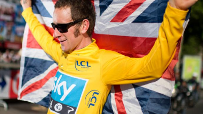 Wiggins wins Britain's first Tour de France