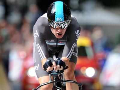 Tour de France winner Wiggins run over by car