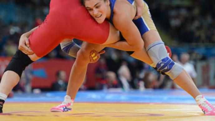 Womens freestyle wrestling event concludes with russian gold rt womens freestyle wrestling event concludes with russian gold freerunsca Image collections