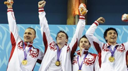 Russian athletes suspended until April 2011