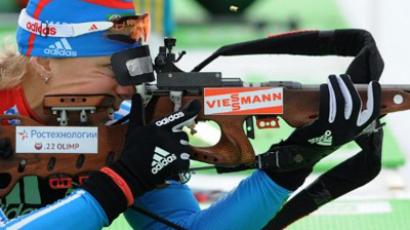 Russia capitalize on Germany collapse to win biathlon relay in Oberhof