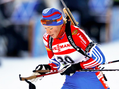 Russian women take relay gold in Antholz-Anterselva