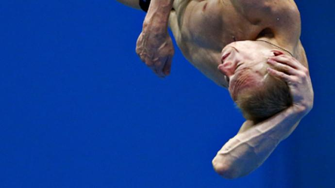 Zakharov shocks Chinese for springboard gold