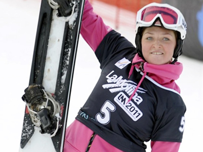 I felt invincible in Spain – snowboarding world champ Zavarzina