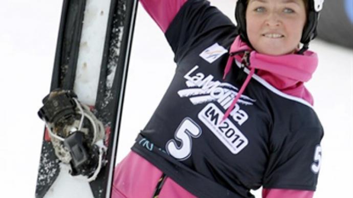 Russia is already a snowboarding heavyweight – world champ Zavarzina