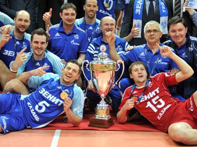 Kazan prolong Russian volleyball reign