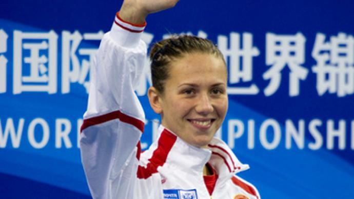 Zueva brings Russia first medal in Shanghai pool