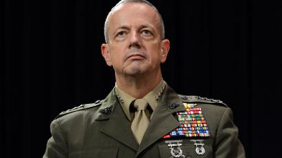 General John Allen cleared in Petraeus sex scandal