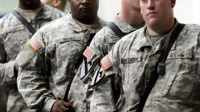 After combat, soldiers sue for jobs