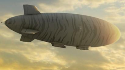 Army spy blimp flies over New Jersey (VIDEO)