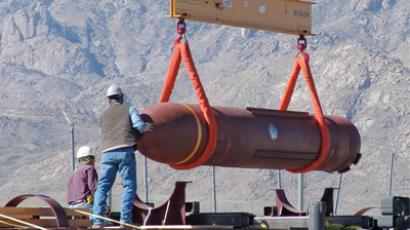 Concrete message: Iran 'supershield' to thwart US 'superbomb'