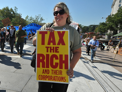 Majority of Americans think rich should pay more taxes