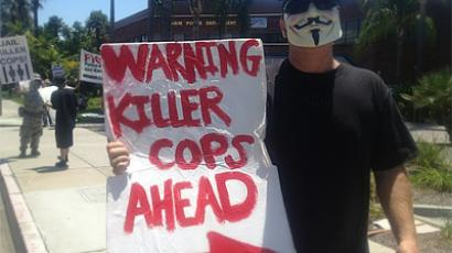 Killer cops prompt Dallas residents to protest