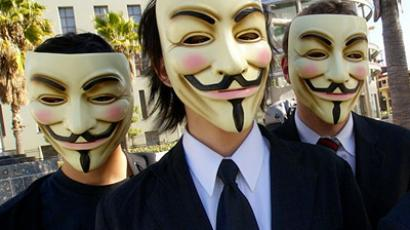 Anonymous target 2012 presidential election
