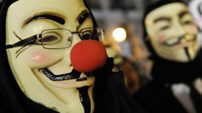 'Anonymous threat' plot to undermine Wall Street protest?