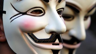 Anonymous joins forces with OWS against NDAA-supporting politicians