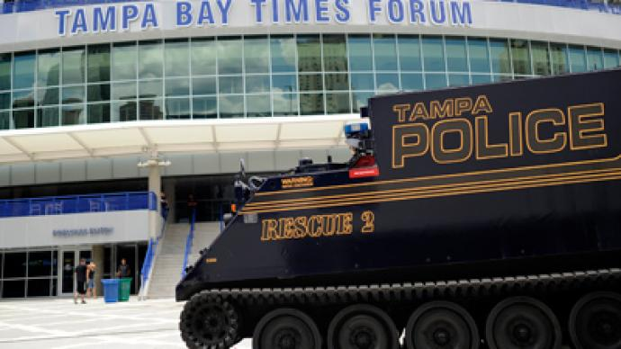 Scared of Anonymous: Tampa police prepare for mass arrests during Republican convention