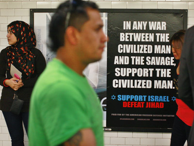 Court ruling: Anti-Jihad posters to come to Washington