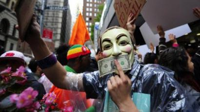 Occupy Wall Street reaches one-month mark