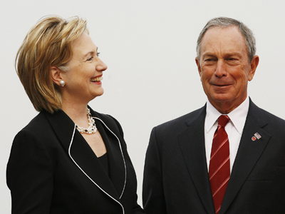 Bloomberg wants Hillary Clinton to succeed him