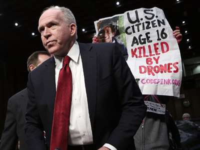 'Brennan the perfect guy to head CIA… if its job is to create more terrorists'