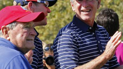 George W Bush writing biography of his father, Bush 41