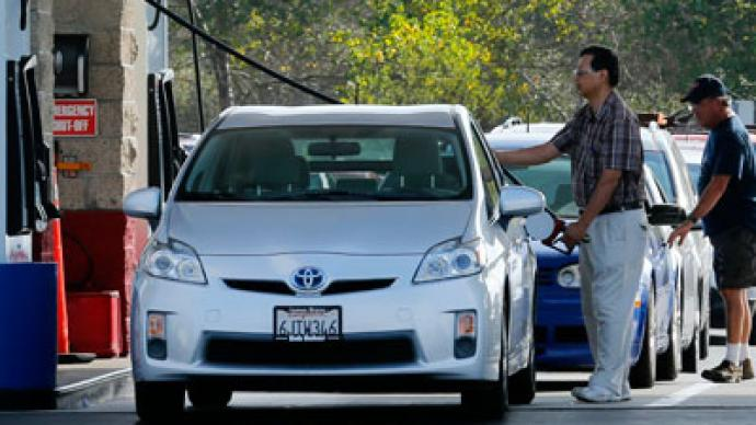 California gas prices hit record high