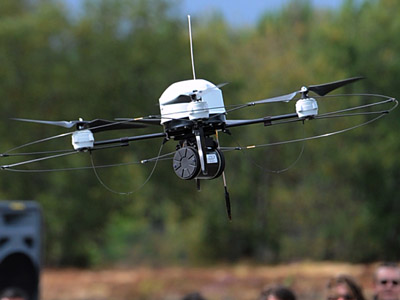 Drones over New York? NYPD chief admits he's interested in an UAV