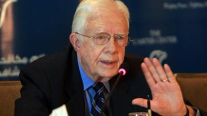 'America has no functioning democracy' – Jimmy Carter on NSA