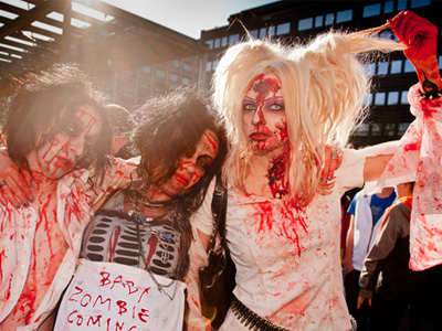 Feds vs. Zombies: CDC officially denies 'Zombie Apocalypse'