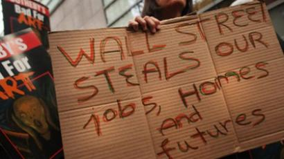 ­'Wall Street is directly responsible for US unemployment'