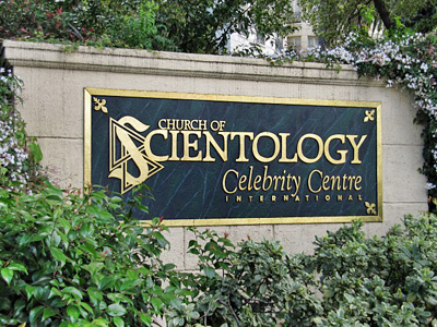 Scientologists start a civil war