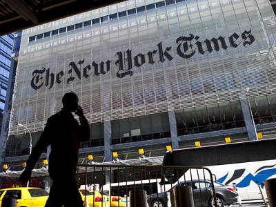 New York Times reporter leaked colleague's column to the CIA
