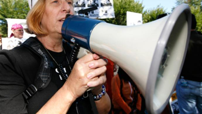 Cindy Sheehan sued by the IRS