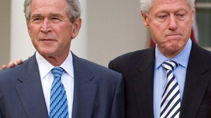 Clinton and Bush next targets for Occupy protesters