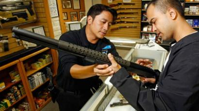 Gun owners stock up on arms over fear of Obama re-election