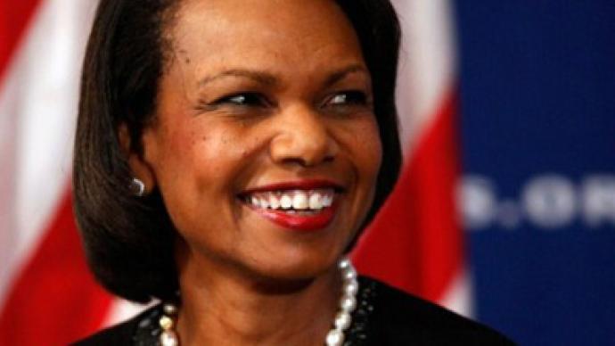 Condoleezza Rice + Big Oil = Democracy promotion?