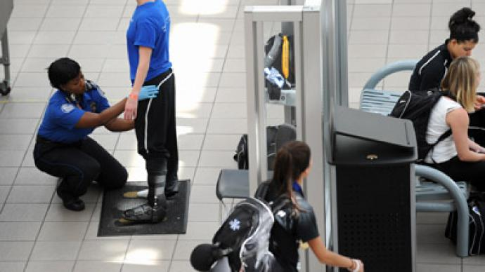 Woman convicted of battery for protesting TSA pat-down