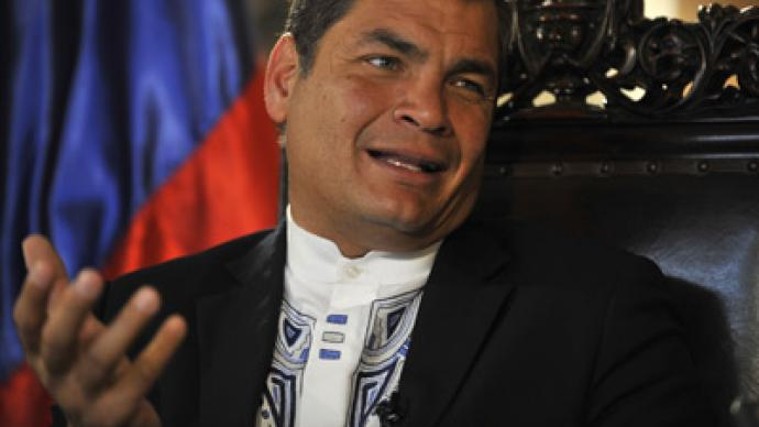 Is Ecuador America's new enemy number one? President Correa could come under attack for appealing to Assange