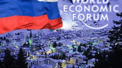 Putin lashes out at world financial system as Davos kicks off