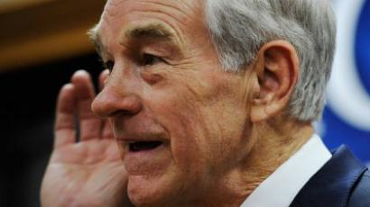 Ron Paul winning in Iowa
