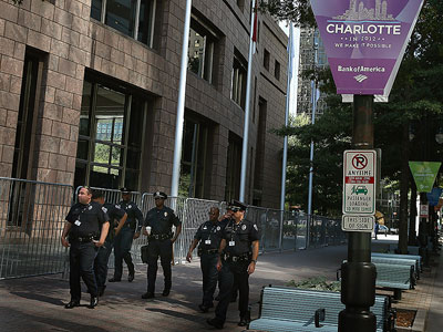 DNC security rules raise fears of unconstitutional police tactics