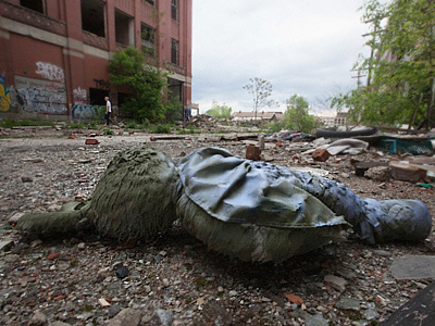 Abandoned Motor City is turning into a dump - literally