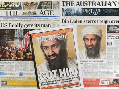 Bin Laden admitted defeat in PR war with West