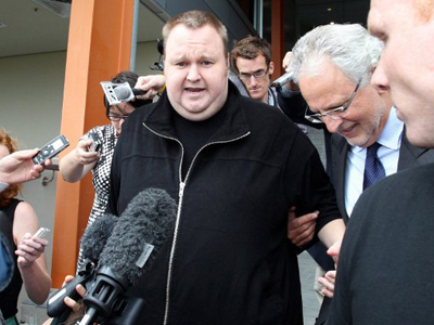 Kim Dotcom ridicules charges against him